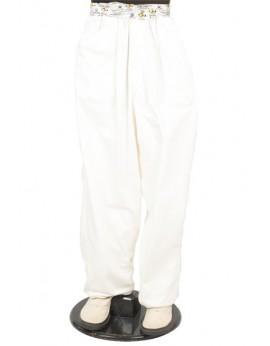 Pantalón blanco tela fina