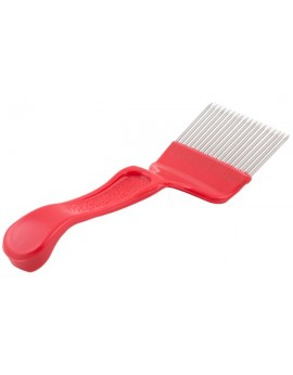 Uncapping comb straight barbs