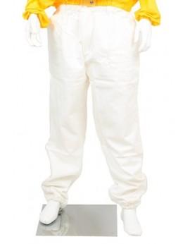 Pantalón blanco tela fuerte